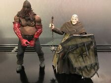 RESIDENT EVIL Neca Figure Bundle Los ILLUMINADOS MONK SHIELD + EXECUTIONER