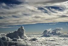 Encadrée Imprimer-Big Sky avec de gros nuages (Photo Poster météo ART STORM pluie)