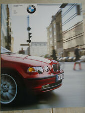 BMW 3 Series Compact brochure 2002 ed 2