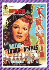 Carte Postale Affiche de Film - ESTA NOCHE Y TODAS LAS NOCHES