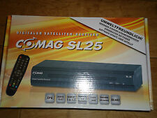 Comag SL25 Sat Receiver Digitaler Satelliten Sat TV Receiver EPG DiSEqC 1.0 1.2