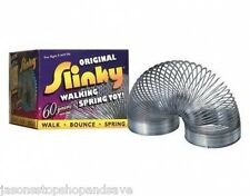 NEW Classic Original Metal Slinky Walking Bouncing Spring Toy Magic Gift