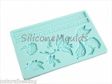 FLORAL FLOWER Silicone Cake Decoration Sugarpaste Fondant Bakeware Mould Mold
