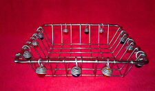 "Stainless Steel Wire Sturdy Storage Basket 8 1/4"" x 8 1/4"""