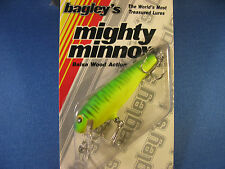 BAGLEY  DIVING  MIGHTY MINNOW 2   FISHING LURE  116