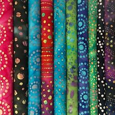 "(20)  2.5"" Assorted Quilters Batik (DOTS) Jelly Roll"