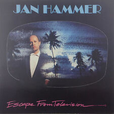 """12"""" LP-Jan Hammer-Escape from Television-k2235-Slavati & cleaned"""