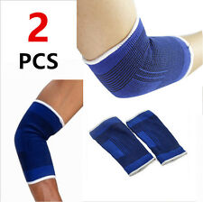 2 ELBOW Wrap Support Brace Elastic Compression Golf free shipping
