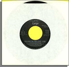 """Cargo (Featuring Dave Collins) - Holding On For Love - 1982 7"""" 45 RPM Single!"""