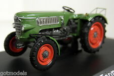 Schuco 1/43 Scale 02721 Fendt Farmer 2 green diecast model tractor