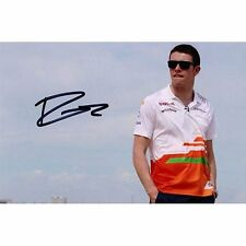 Signed photograph - Paul Di Resta Signed by Paul with black marker