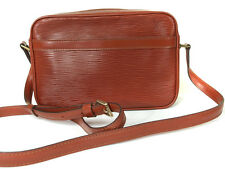 Authentic LOUIS VUITTON Trocadero 24 Brown Epi Leather Shoulder Bag Purse LS0266