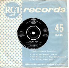"ELVIS PRESLEY - KISS ME, QUICK - EP 7"" 45 VINYL RECORD"