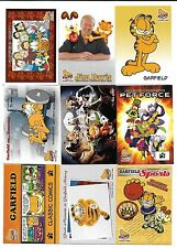 2004 Pacific GARFIELD Trading Card Set & Garfield Movie Cards (100 Total Cards)