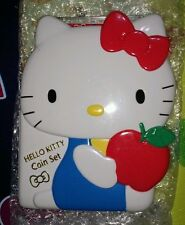 Limited Japan Mint 2004 Hello Kitty 30th Anniversary Mint Coin Set Toy Figure