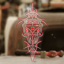 Bus Pinstriping Sticker Aufkleber autocollant Cox Bug T1 2 Airccoled rot