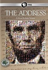 Ken Burns: The Address,Very Good DVD, ,
