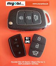 Keypad for - Hyundai iGen i20 (New Models) Flip Keys (g)