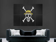 ONE PIECE  ART WALL LARGE IMAGE GIANT POSTER 6