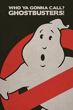 Ghost Busters Poster! Logo No Sign Dan Aykroyd Bill Murray New Never Hung