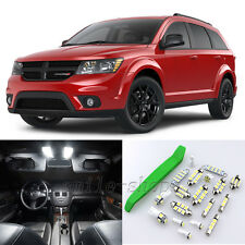 Xenon White 14pcs Interior LED Light Kit for 2009-2016 Dodge Journey + Free Tool
