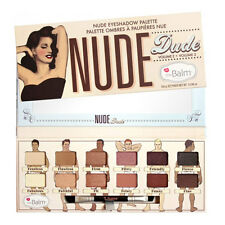 12 Colors The Balm Nude Dude Warm Matte Eyeshadow Shimmer Palette Makeup Kit Set