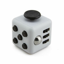 Beige Magic Fidget Cube Anti-anxiety  Adults Stress Relief 6 sided desk Kid Toy