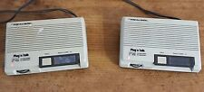 VINTAGE REALISTIC 43-207A FM WIRELESS INTERCOM SYSTEM TESTED (Lot of 2)