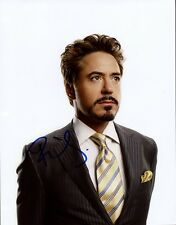 ROBERT DOWNEY, JR. Signed Photo
