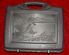 Warhammer Fantasy 40k Plano Gun Case With Eagle And Foam Great For Tanks & Army