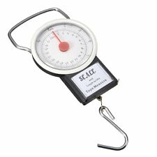 Portable Fish Luggage Weighing Scale Hanging Hook Scale with 1 m Measure Tape