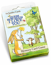 New Guess How Much I Love You Memory Card Game Paul Lamond