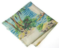 NEW Pocket Square Handkerchief Hawaii Island Made with Ralph Lauren Fabric