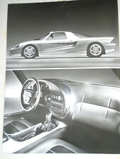 Mercedes C112 car press photo brochure 1991 ref  D 48 154
