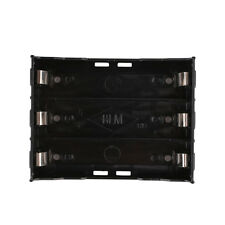 Storage Box Holder Case For 3x Li-ion Lithium 18650 3.7V Battery With Pin