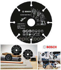 BOSCH 115mm Mini Grinder Carbide Multi Wood,Plastic,MDF,Cement Board, 2608623012
