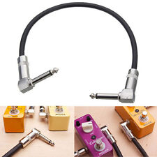 Guitar Patch Cable Effect Pedal Cord AMP Cord 30cm Low Noise Audio cable 6.35