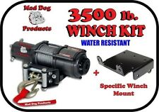 3500lb Mad Dog Winch Mount Combo Arctic Cat 06-11 Prowler 550 650 700 1000