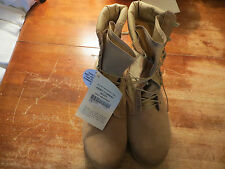 NEW HOT WEATHER ARMY COMBAT BOOT DESERT TAN 14.5 XW MILITARY BOOTS VIBRAM SOLES