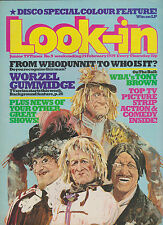 LOOK-IN MAGAZINE Comic 24 February 1979 West Bromwich Albion Tony Brown Disco