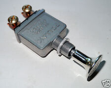 Push-Pull Switch  -  Heavy Duty 75 amp POLLAK brand. Oversised Knob