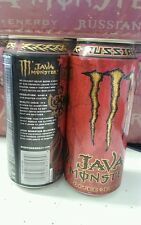 Very Rare Monster Energy  Russian Java (Full, Sealed)  Can