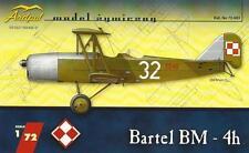 BARTEL BM-4 H (POLISH AF MARKINGS 1932-39)  1/72 ARDPOL RESIN (pzl/pws)