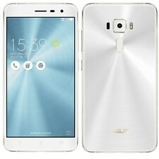 "ASUS ZenFone 3 ZE552KL White (Factory Unlocked) 64GB 5.5"" HD 16MP Dual Sim"