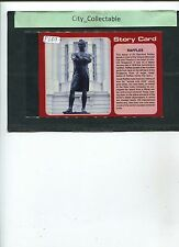 P689 # MALAYSIA USED PICTURE POST CARD * SINGAPORE STORY CARD - RAFFLES