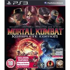 Mortal Kombat Komplete (Complete) Edition Game PS3 Brand New