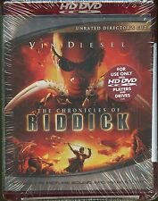 Chronicles of Riddick (HD-DVD, 2004, Unrated Directors Cut Edition) ~ NEW ~