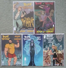 "BURN THE ORPHANAGE ""REIGN OF TERROR"" #1-5 SET..SINA GRACE..IMAGE 1ST PRINT..VFN+"