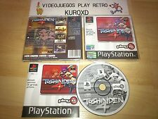 PLAY STATION PS1 PSX TOSHINDEN 4 COMPLETO PAL ESPAÑA
