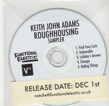 (GF344) Keith John Adams - Roughhousing, Sampler - DJ CD